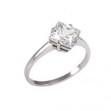 Zásnubní prsten se zirkonem P091
